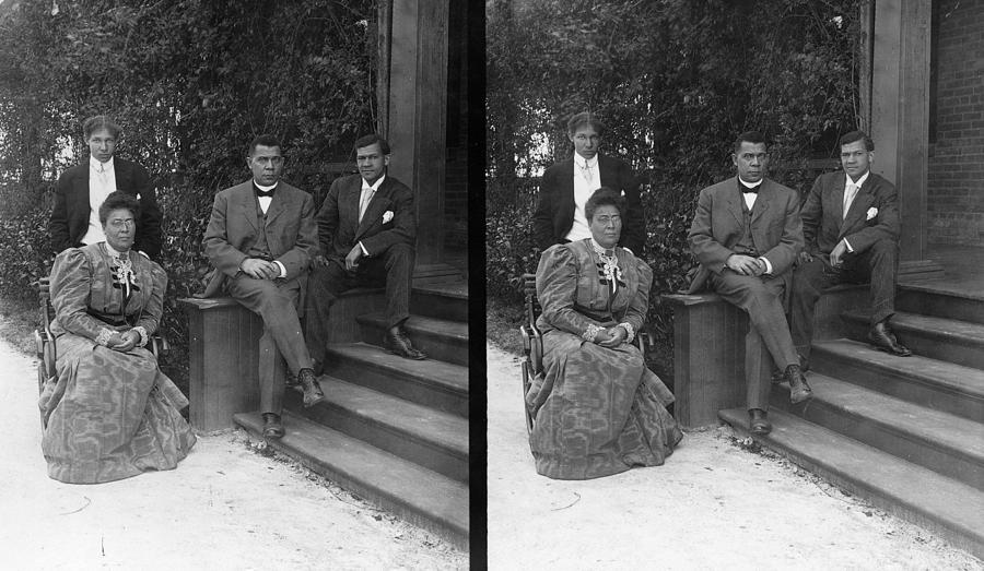 1906 Photograph - Booker T by Granger