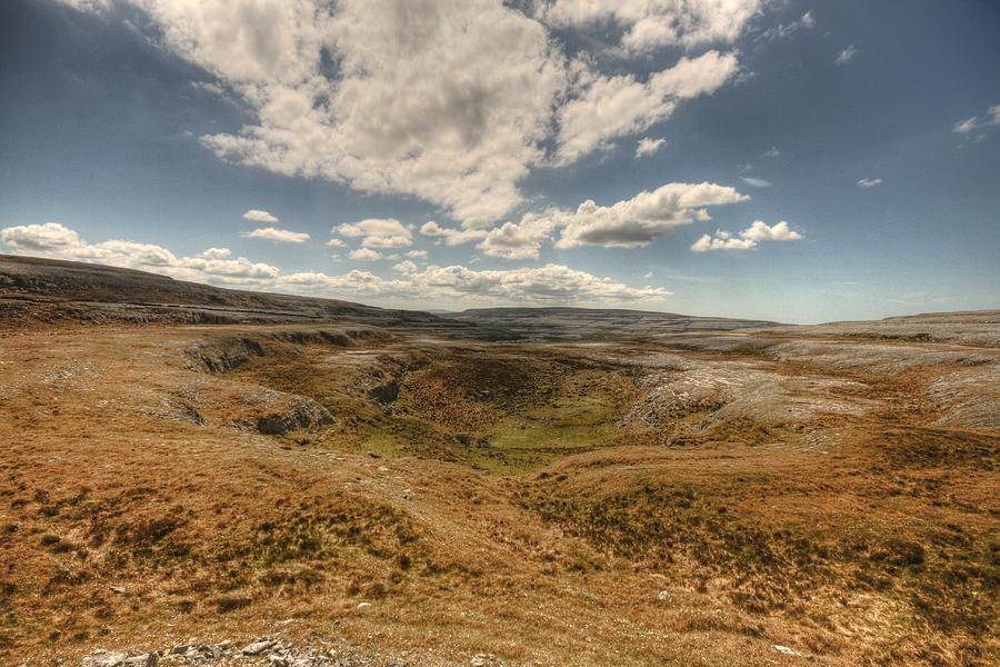 Ballyvaughan Photograph - Burren Landscape by John Quinn