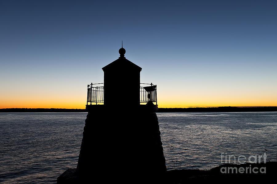 Castle Hill Lighthouse Photograph - Castle Hill Lighthouse by John Greim