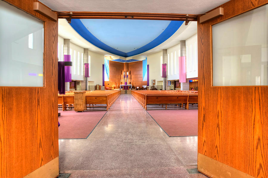 Mn Churches Photograph - Church Of Saint Columba by Amanda Stadther