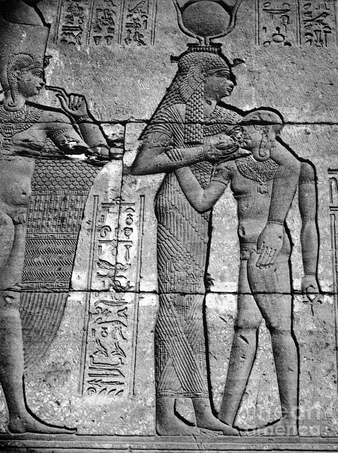 1st Century B.c Photograph - Cleopatra Vii (69-30 B.c.) by Granger