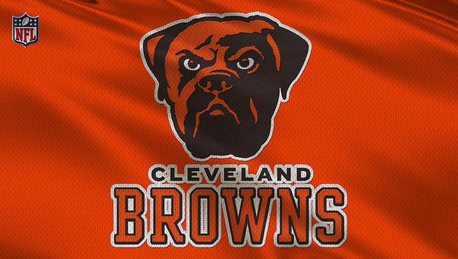 Browns Photograph - Cleveland Browns Uniform by Joe Hamilton