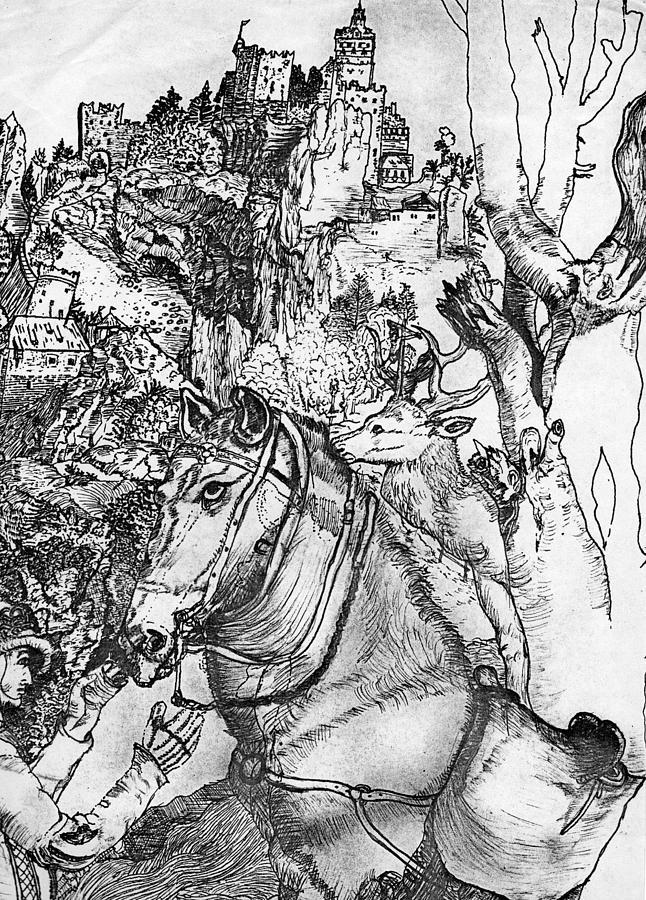 Hoarse Drawing - Dads Work by John Balestrino