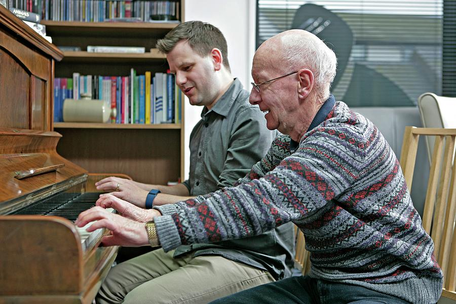 Patient Photograph - Dementia Resource Centre by Lewis Houghton/science Photo Library