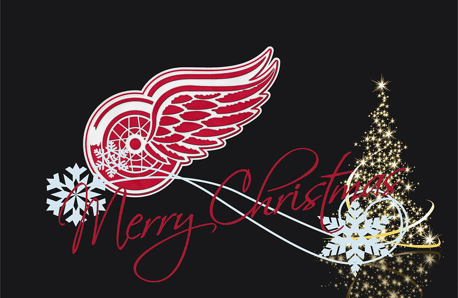 Red Wings Photograph - Detroit Red Wings by Joe Hamilton