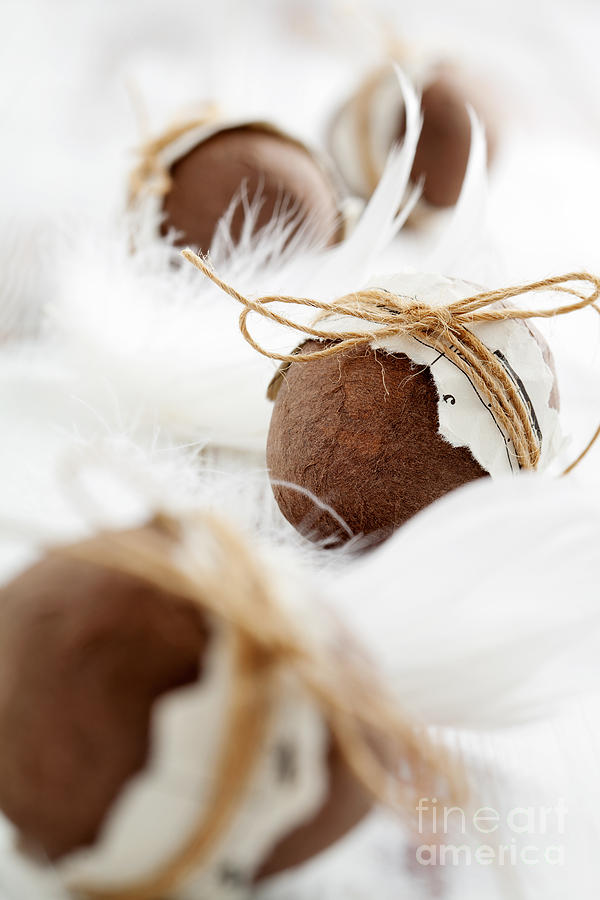 Basket Photograph - Easter Eggs by Kati Finell
