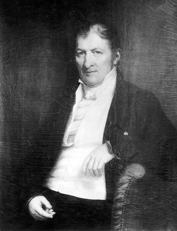 18th Century Painting - Eli Whitney (1765-1825) by Granger