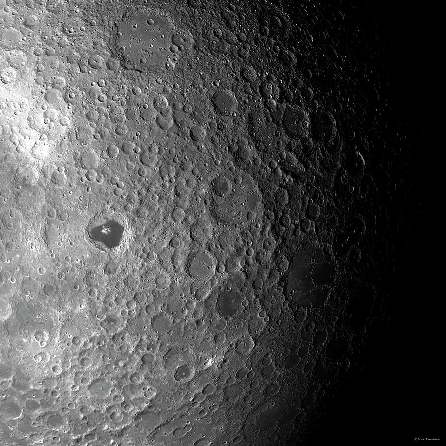 Far Side Of The Moon Photograph by Detlev Van Ravenswaay