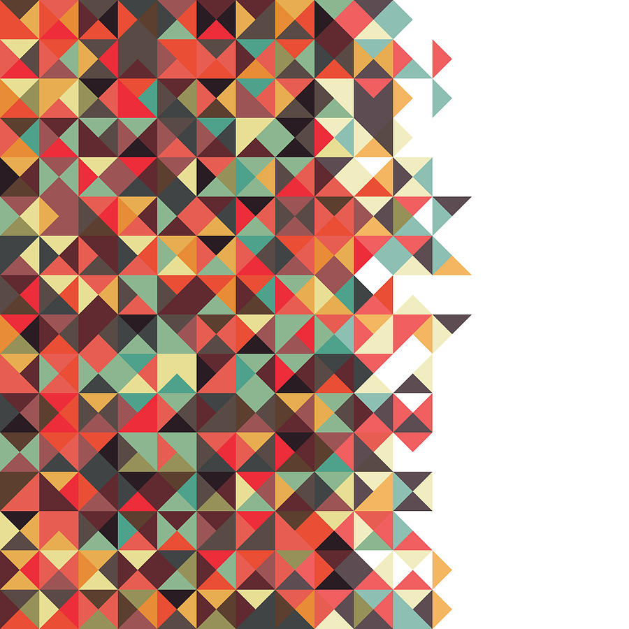 Pattern Digital Art - Geometric Art by Mike Taylor