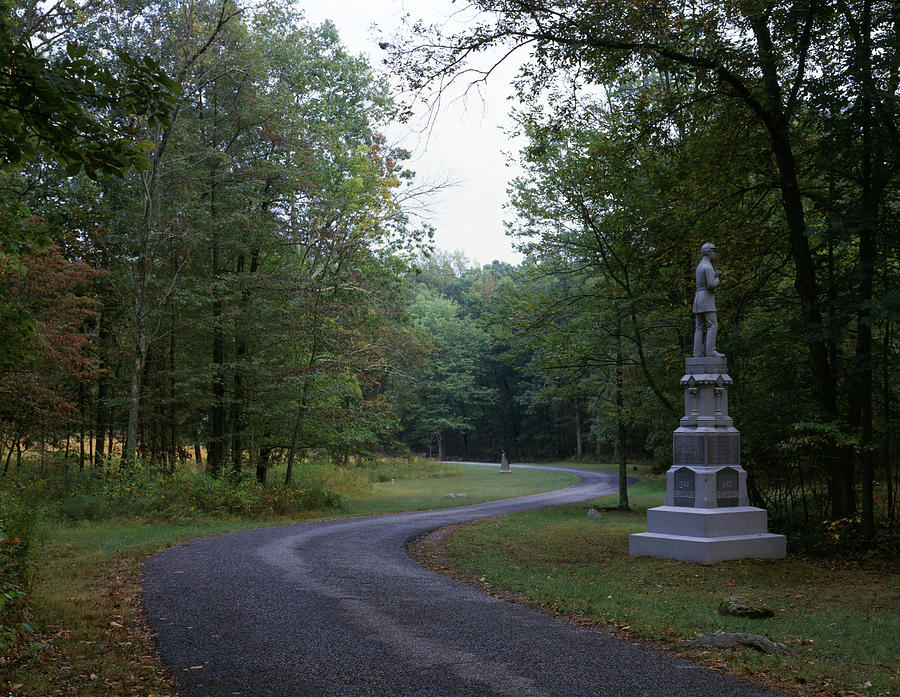 1998 Photograph - Gettysburg Military Park by Granger
