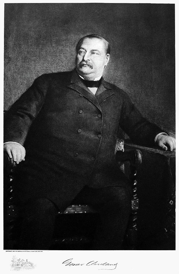 1907 Painting - Grover Cleveland (1837-1908) by Granger