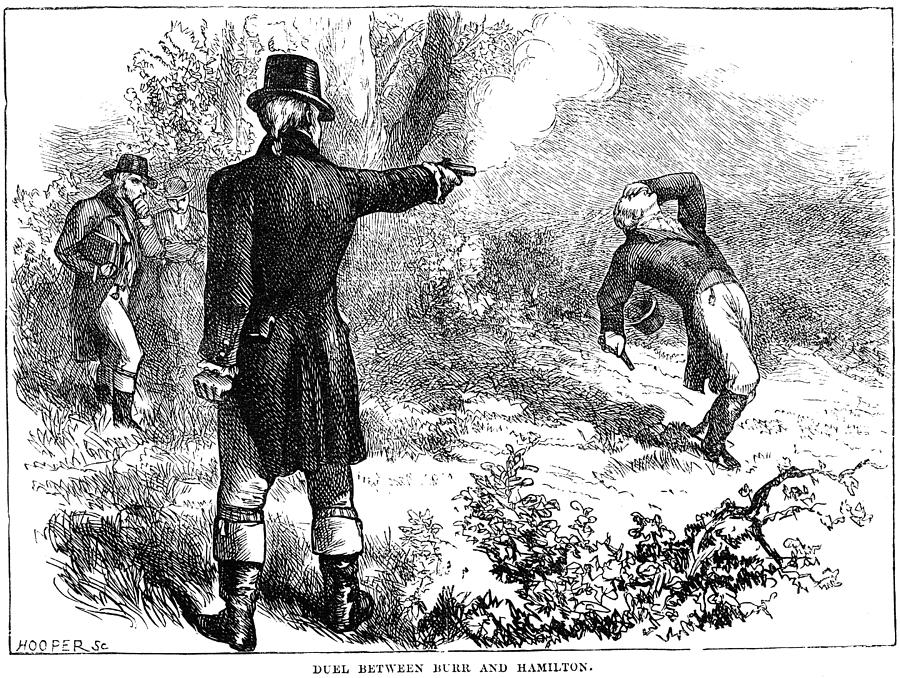 a discussion on the case of the duel between aaron burr and alexander hamilton The burr-hamilton duel was fought between prominent american politicians aaron burr, the sitting vice president of the united states, and alexander hamilton, the former secretary of the treasury, at weehawken, new jersey.