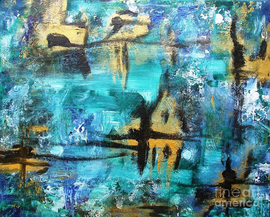 Abstract Painting - #7 by Jacqueline Howett