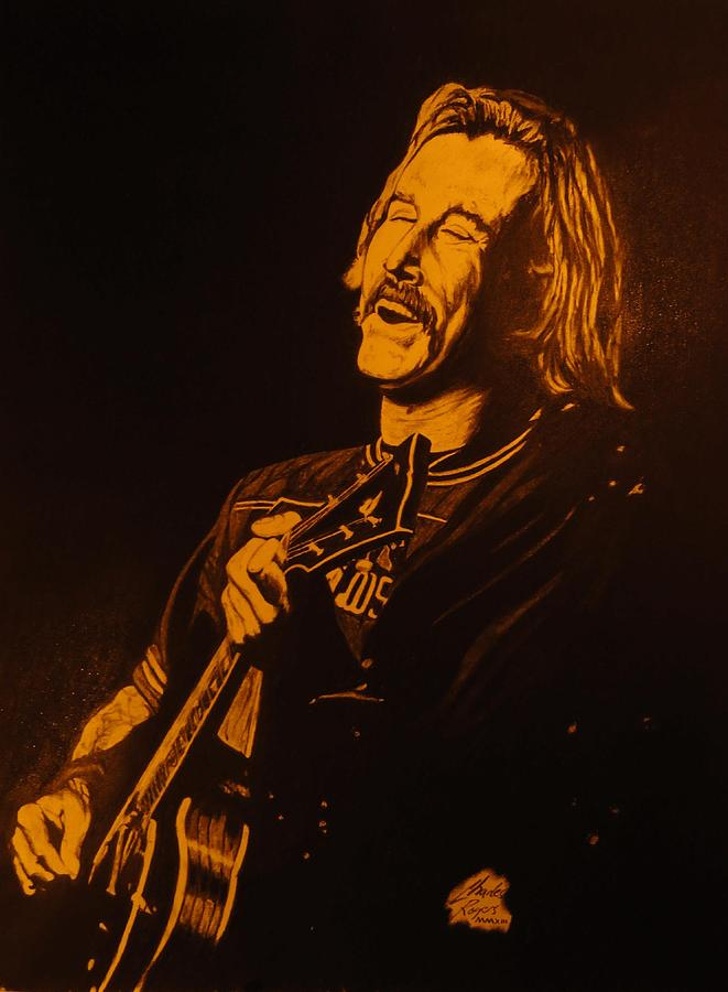 Jimmy Buffet Drawing - Jimmy Buffet 1975 by Charles Rogers