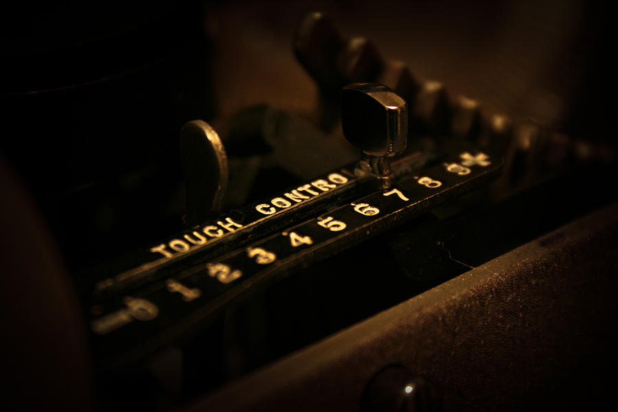 Typewriter Photograph - 7 by Joel Loftus
