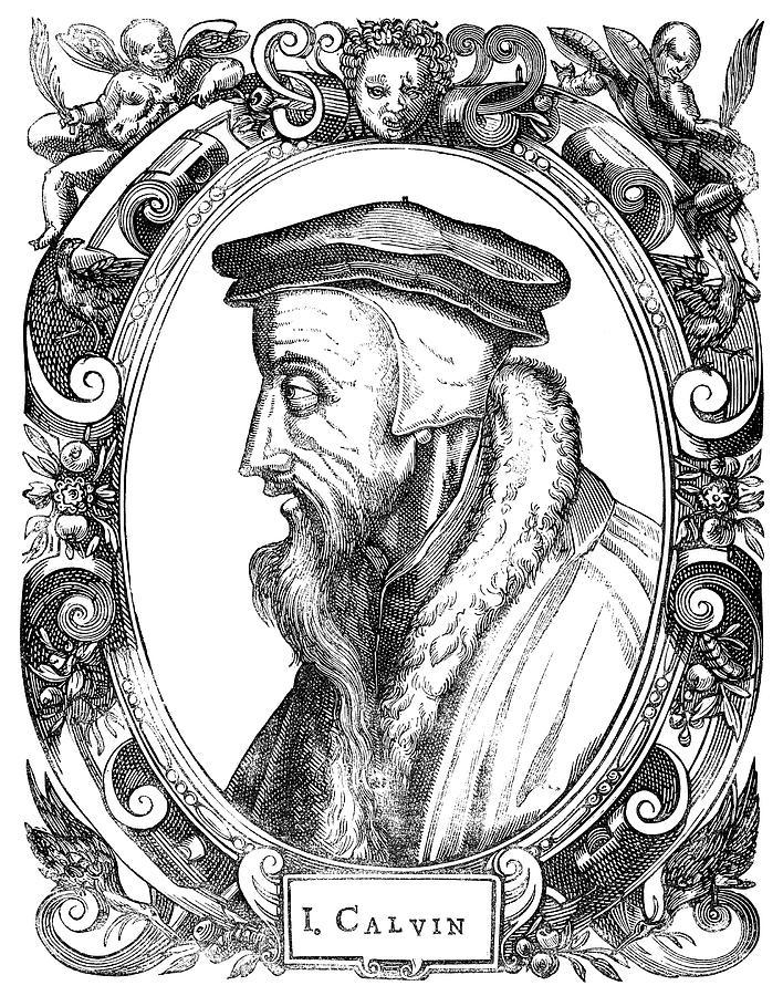 16th Century Painting - John Calvin (1509-1564) by Granger