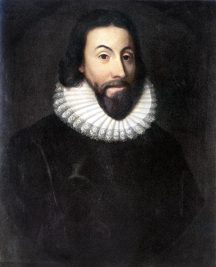 1st Painting - John Winthrop (1588-1649) by Granger