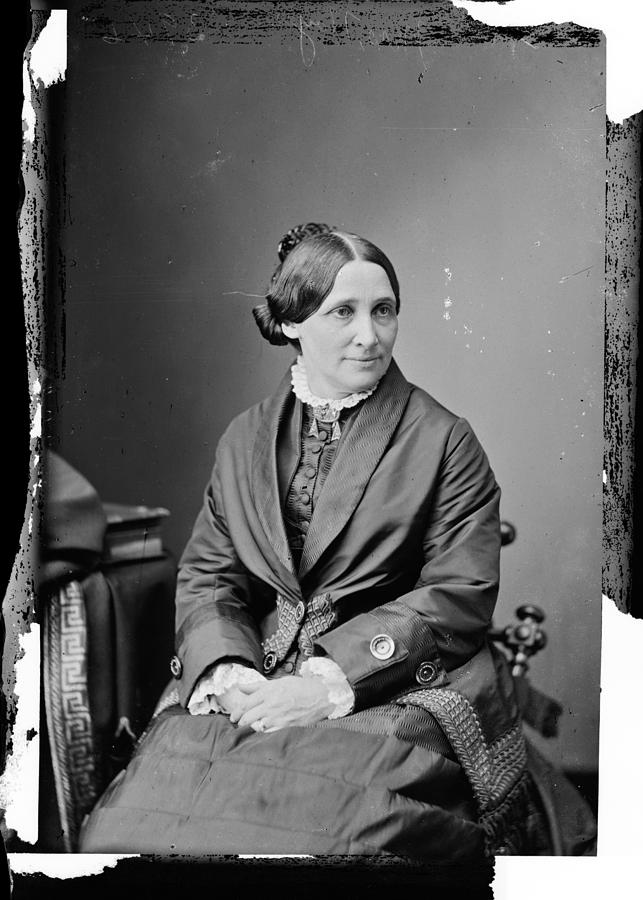 1880s Photograph - Lucy Hayes (1831-1889) by Granger