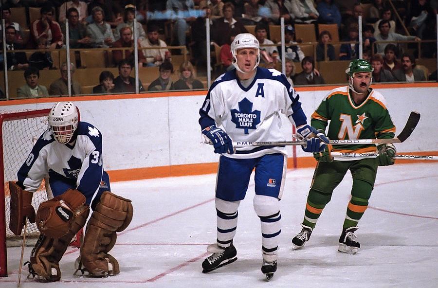 Minnesota North Stars v Toronto Maple Leafs Photograph by Graig Abel