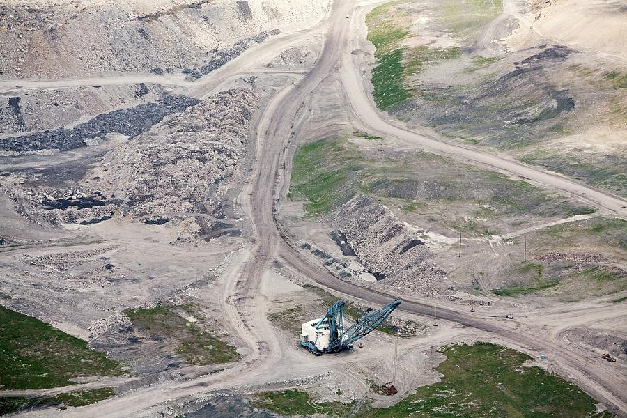 Mine Photograph - Mountaintop Removal Coal Mining by Jim West