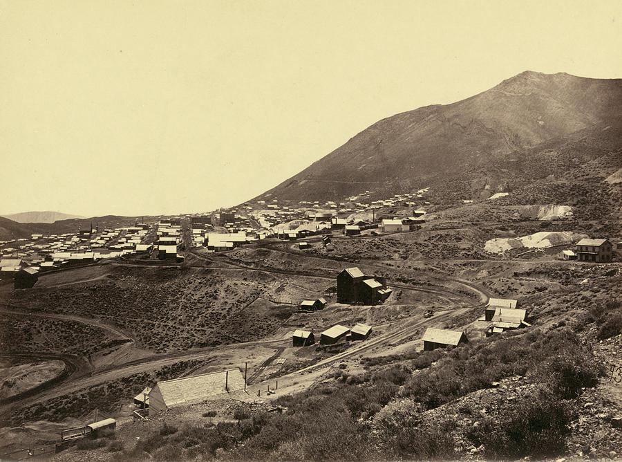 1867 Photograph - Nevada Virginia City by Granger