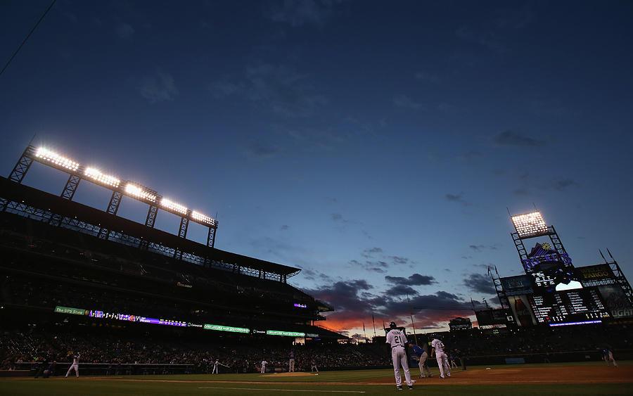 New York Mets V Colorado Rockies Photograph by Doug Pensinger
