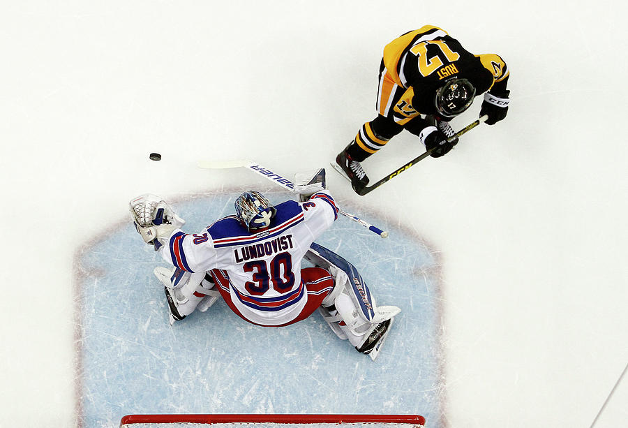 New York Rangers V Pittsburgh Penguins Photograph by Justin K. Aller