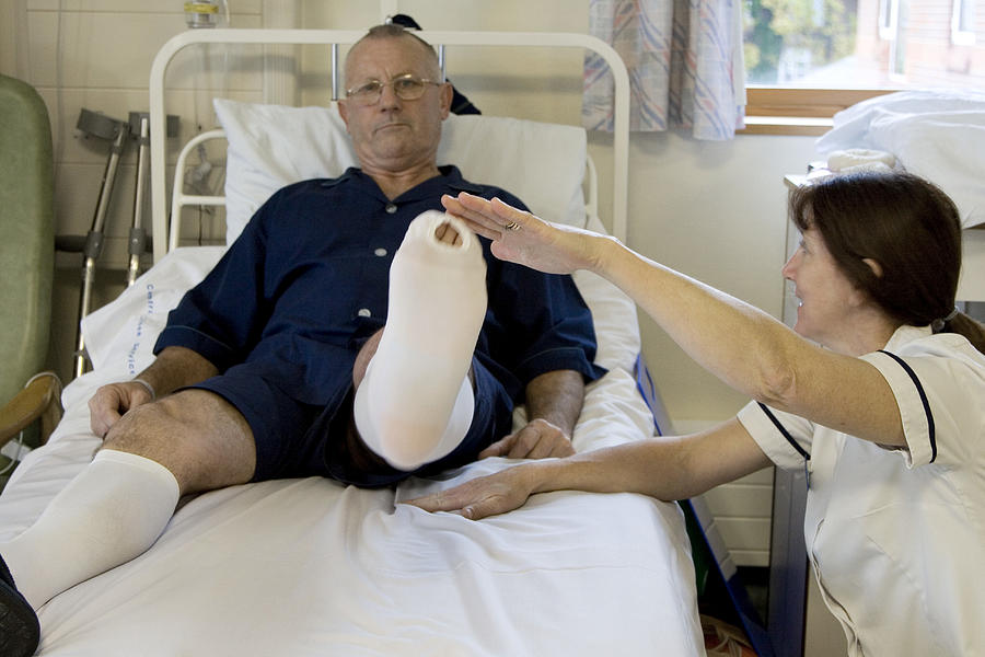 Human Photograph - Physiotherapy by Life In View/science Photo Library