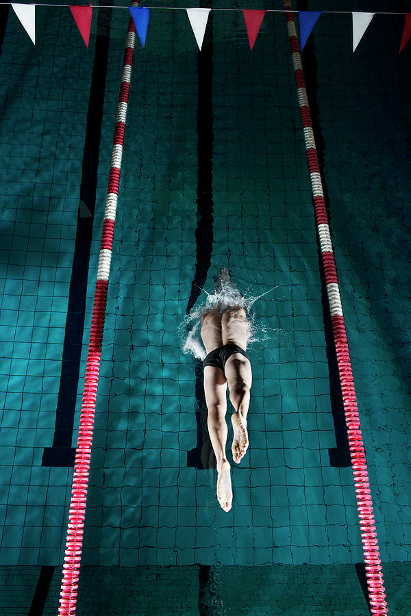 Professional Swimmer Photograph by Henrik Sorensen