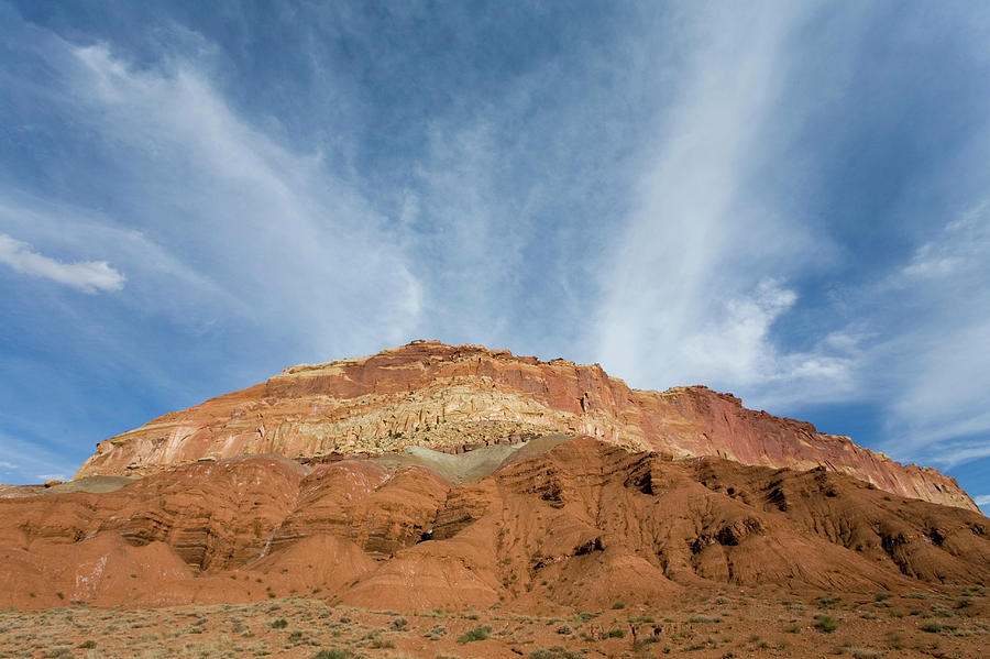 Capitol Reef National Park Photograph - Redrock Scenery In Capitol Reef 7 by Scott Warren