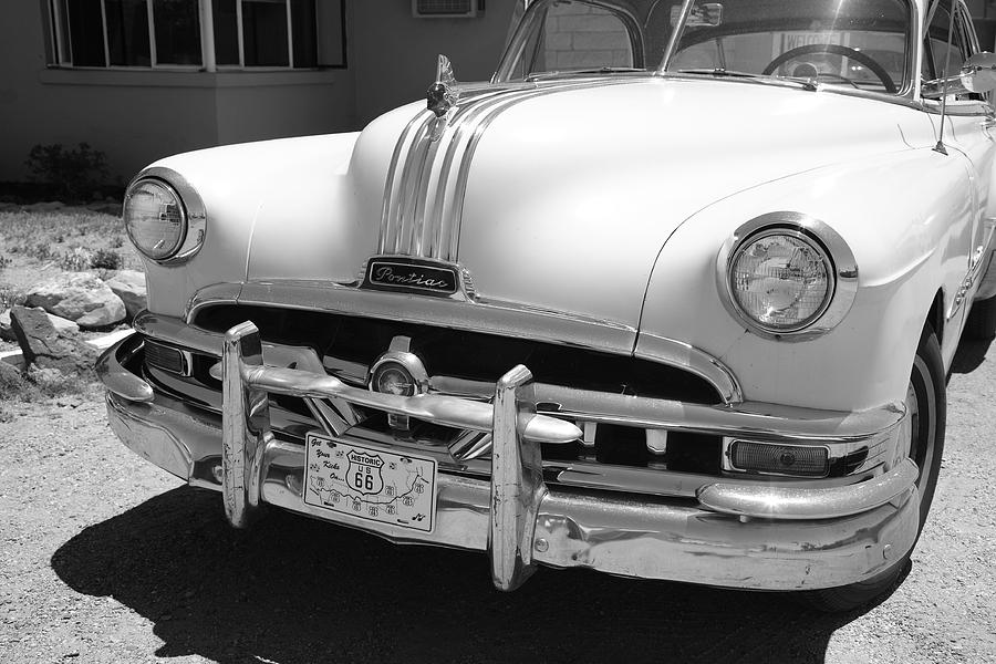 66 Photograph - Route 66 - Classic Car by Frank Romeo