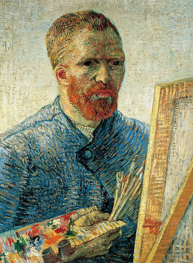 Painting Painting - Self Portrait by Vincent van Gogh