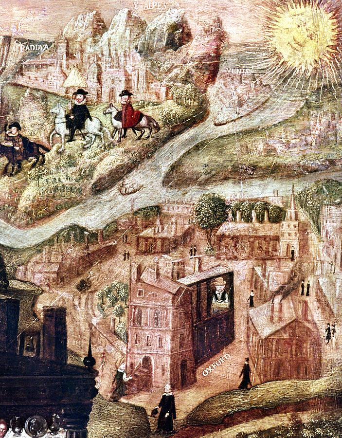 Alps Painting - Sir Henry Unton (c1557-1596) by Granger