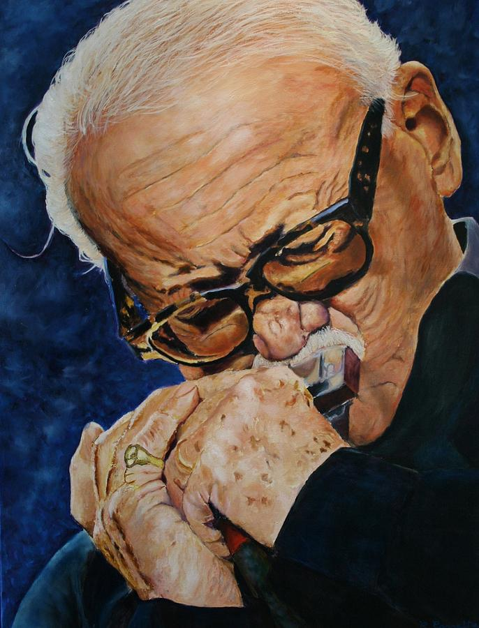 Famous Painting - Toots Thielemans by Christian Carrette