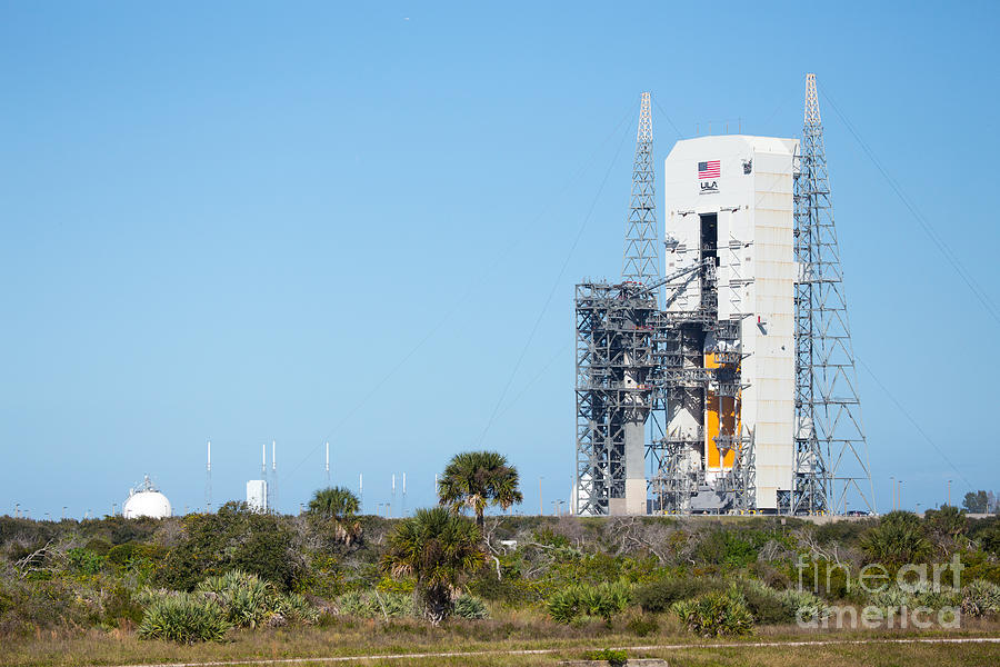 Nasa Photograph - Ula Launch Complex, Cape Canaveral by Chris Cook