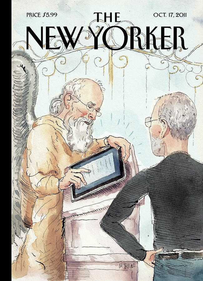 New Yorker October 17th, 2011 Painting by Barry Blitt