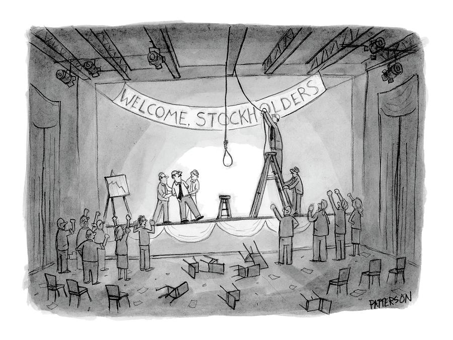 New Yorker May 29th, 2006 Drawing by Jason Patterson