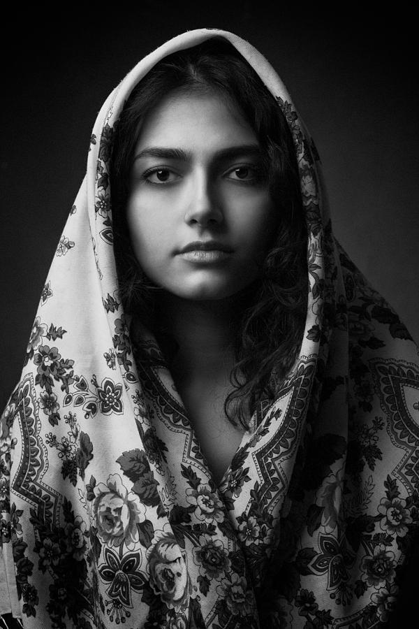Portrait Photograph - Untitled by Mehdi Mokhtari