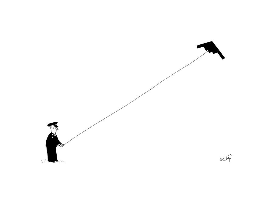 New Yorker January 9th, 2017 Drawing by Seth Fleishman