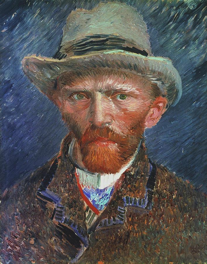 1887 Painting - Vincent Van Gogh (1853-1890) by Granger