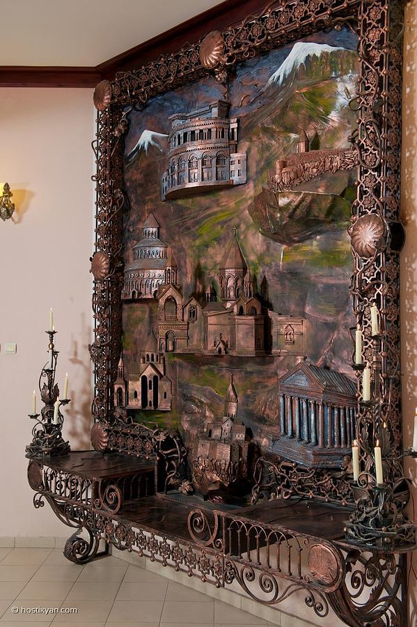 Iron Sculpture - 7 Wonders Of Armenia by Arman Hostikyan