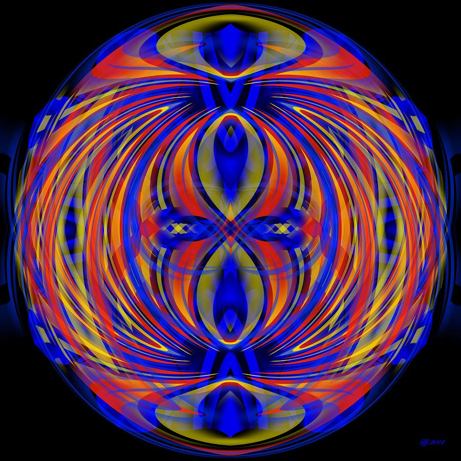 Abstract Digital Art - 700 32 by Brian Johnson