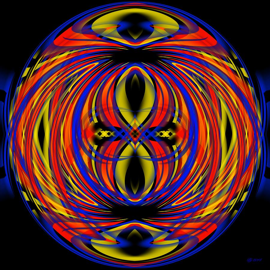 Abstract Digital Art - 700 33 by Brian Johnson