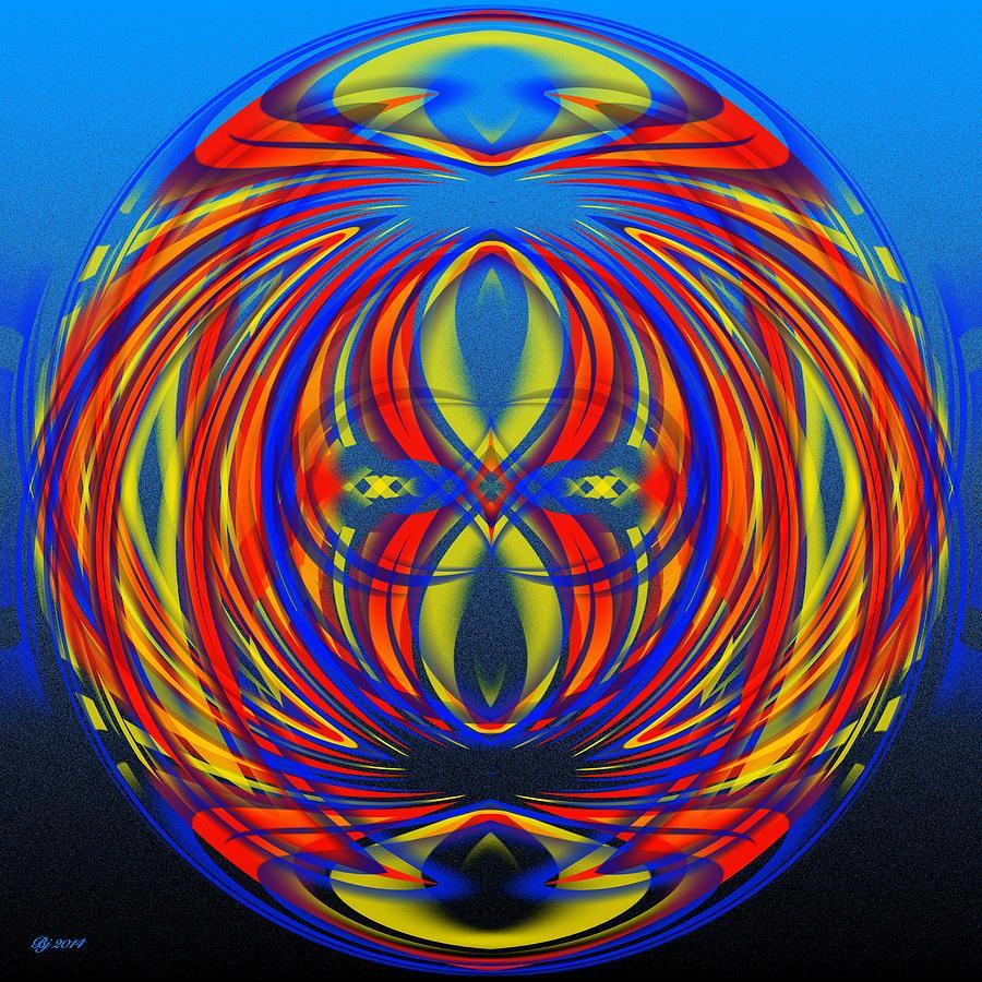 Abstract Digital Art - 700 34 by Brian Johnson