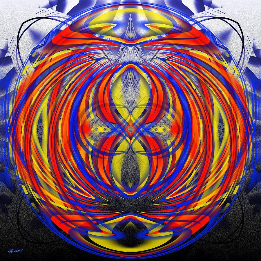 Abstract Digital Art - 700 35 by Brian Johnson