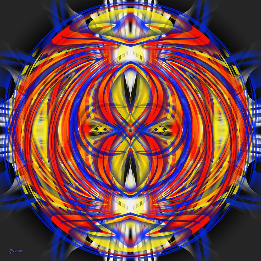 Abstract Digital Art - 700 36 by Brian Johnson