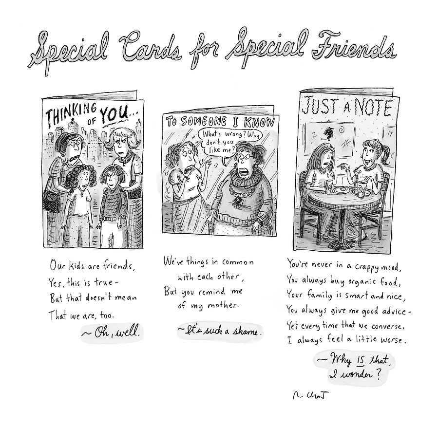 New yorker february 7th 2005 by roz chast new yorker february 7th 2005 drawing by roz chast m4hsunfo