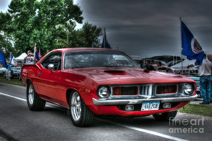 Plymouth Photograph - 72 Cuda by Tommy Anderson