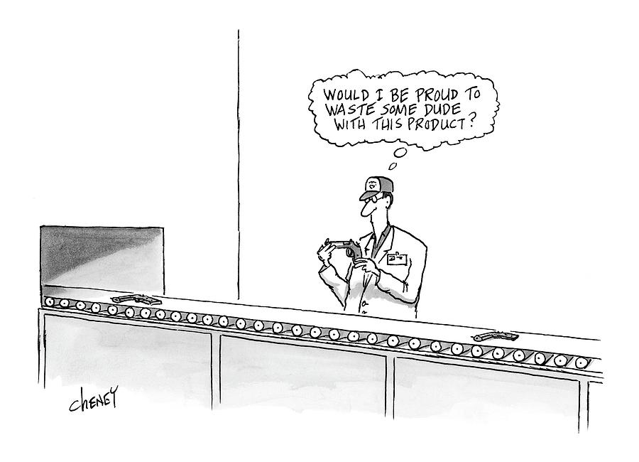 New Yorker May 16th, 2005 Drawing by Tom Cheney
