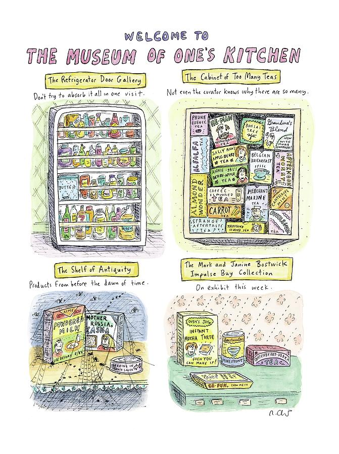 New Yorker August 13th, 2007 Drawing by Roz Chast